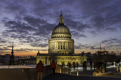 St Paul's Dome (HotSnapshot) Tags: old city longexposure sunset london architecture canon twilight cityscape nightscape cathedral stpauls cities wideangle dome 7d wren bluehour stpaulscathedral timeout goldenhour slowexposure shutterpriority londonist sirchristopherwren londontown canon1022mm londonarchitecture canon1755mm canon7d
