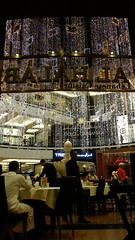 Al Halabi Libanese Restaurant, Mall of the Emirates, Dubai. (claireschmidtmeyer) Tags: mall restaurant dubai uae eid decoration libanese malloftheemirates libaneserestaurant alhalabi