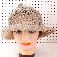 Crochet Hat Womens Hat, Womens Summer Hat Women, Crochet Wide Brim Hat Women, Hemp Cord Hat, Natural Hat, Boho Chic Hemp Sun Hat, SHADY LADY (strawberrycouture) Tags: summer hat cord strawberry women natural crochet wide womens chic boho couture hemp brim