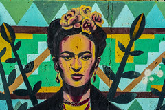 Chicago, IL 11.1.2015 (MBA-Photography) Tags: urban streetart chicago wall graffiti illinois pilsen subversive chicana kahlo frieda