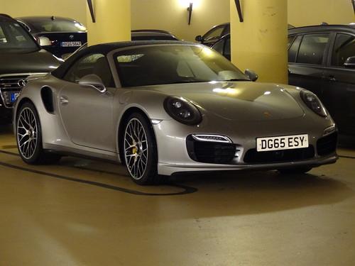 991 Porsche 911 cabriolet