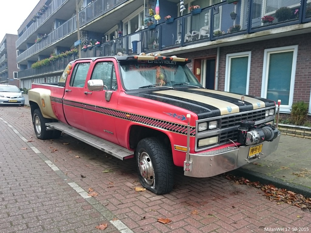 The Worlds Most Recently Posted Photos Of Chevrolet And Crewcab 1991 Crew Cab C K 3500 4x4 Dual Rw Vn 91