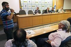 Ministro Marcelo Castro recebe em Audiência Lideranças Indígenas e Fórum de Presidentes do Condisi (Secretaria Especial de Saúde Indígena (Sesai)) Tags: brasília beto outubro indígena índio ministro 2015 secretário yanomami audiência marcelocastro antônioalves