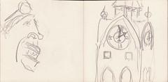 das Rosenheimer Herbstfest lockt (raumoberbayern) Tags: summer bus pencil subway munich mnchen sketch drawing sommer tram sketchbook heat ubahn draw bleistift robbbilder skizzenbuch zeichung