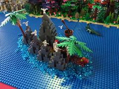 IMG_8052 (LUG Festibriques) Tags: montagne dragon lego exposition fantasy nancy hotdogs caverne fantastique 2015 scoubidou festibriques ludibriques