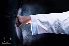Power punch! (Devin Lester Photography) Tags: senior training power exercise martialarts karate fist impact warrior strike punching strength punch fitness sensei active punchingbag shotokan punches martialartist jka
