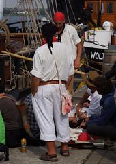 Bieraten (Gnter Hickstein) Tags: ocean people coast meer leute pirates balticsea ostsee rostock hansesail kste uelzen piraten 2015 gnterhickstein