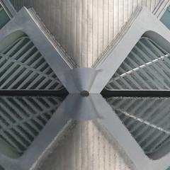 Mask (Arni J.M.) Tags: roof reflection building glass valencia wall architecture spain mask symmetry sphere calatrava planetarium santiagocalatrava ciudaddelasartesylasciencias lhemisfric imaxcinema laserium eyeofknowledge