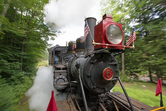 Steaming through the White Mountains (jterry618) Tags: railroad unitedstates newhampshire lincoln steamengine steamtrain steamlocomotive