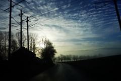 (blazedelacroix) Tags: mist sunrise de la wired blaise croix kyrka dimma rydbo blazedelacroix