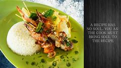 Food's Soul - Asian Taste (Encik Jun) Tags: asian foods prawn alacarte nikkor35f14 a6000