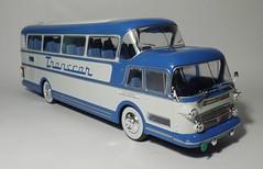 Isobloc 656DH Transcar (5) (dougie.d) Tags: france bus scale coach model panoramic 1956 autobus panoramique 143 diecast autocar ixo ludewig hachette modelbus autocoach altaya busmodel transcar isobloc floirat isobloc656dh 15decker