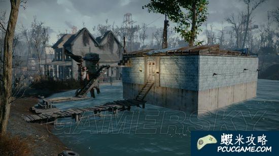 異塵餘生4 塔芬頓海上度假小屋 異塵餘生4塔芬頓家園建設效果一覽