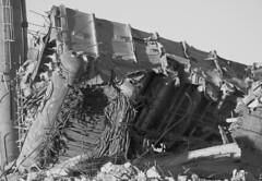 HOUSE OF THE DESTROYED (RICHARD OSTROM) Tags: winter art monochrome america canon death junk debris nerds gore violence crumble dslr quest loud rubble 2015