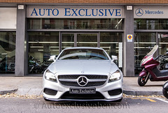Mercedes - Benz CLS 350 BT 4Matic Coupè AMG - 252 c.v - Plata Iridio - Piel Passion Negra