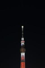 DSC_1494 (Zengame) Tags: tower japan architecture tokyo nikon df illumination landmark illuminated jp   nikkor   candletree  skytree   tokyoskytree   afs58mmf14g afsnikkor58mmf14g