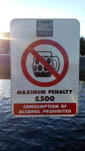 La bière la plus chère du monde, Loch Lomond, Écosse