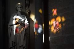 Polychromie (Gerard Hermand) Tags: 1510319618 bretagne pontlabbé notredamedescarmes gerardhermand france eos5dmarkii church color couleur light lumiere statue eglise canon
