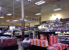 delicatessen, looking back toward the café (l_dawg2000) Tags: new food usa café retail toys clothing unitedstates ar jewelry bakery marketplace arkansas produce grocerystore grocery throwback apparel delicatessen kroger jonesboro 2014 formermallsite marketplacedécor