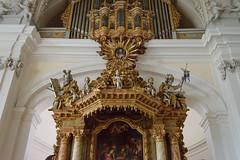Evangelische Kirche Weilburg (G_Albrecht) Tags: deutschland hessen kultur religion kirche altar architektur hochzeit barock stil weilburg silberhochzeit evangelisch sakral ereignis