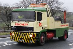 ERF EC12 Recovery Yorkshire Rider M175MBA (NTG842) Tags: road west yorkshire run trucks erf rider recovery huddersfield marsden lorries 2016 ec12 motormans m175mba