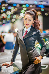 DSC04076 (inkid) Tags: portrait people girl lady female thailand prime lights model women pretty dof bokeh f14 85mm sigma indoor thai ambient hsm motorexpo2015