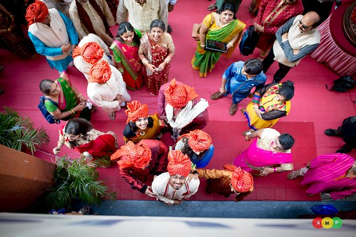 A different view- beautiful reactions from the groom and his mother :)
