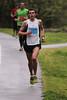 Winner Half-Marathon,  Matthew COLE, bib # 4177, in a time of 1:13:45 (Steven Taylor (Aust)) Tags: rain sport running 30km srichinmoy princespark 4177 3203