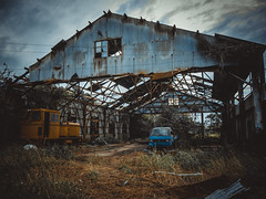 # () Tags:    abandoned nohdr derelict decaying wrecked forgotten factory