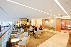 Mezzanine lounge space (A. Wee) Tags: terminal3 cgk jakarta  airport  garudaindonesia lounge