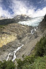 Glacier des Bossons [FR] (ta92310) Tags: travel hdr summer 2016 europe france chamonix 74 hautesavoie alpes alps trail randonnée chemin glacier bossons waterfall icefield ice montblanc