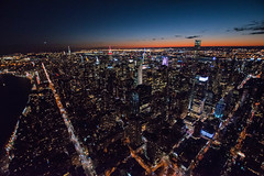 Flynyon Flight (Roddy Ross) Tags: nyc new york city midtown downtown night lights empire state one world trade avenue usa flynyon helicopter ride manhatten