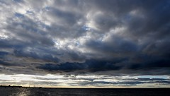 Malmö October 2016 077b (paul_appleyard) Tags: malmö sweden october 2016 oresund clouds sky cloudy dark sea
