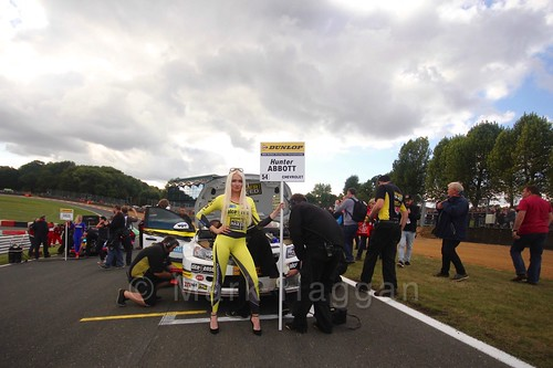 Hunter Abbott during the BTCC Brands Hatch Finale Weekend October 2016