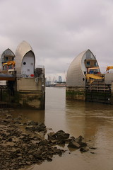 Thames Barrier 5 (Tony Howsham) Tags: london thames barrier canon eos70d sigma 18250 os landscape city