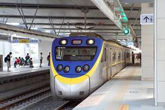 IMG_0545  (vicjuan) Tags: 20161016 taiwan   taichung fongyuan  railway geotagged geo:lat=2425532 geo:lon=120724043  fongyuanstation  train