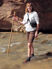 2016-09-p02-narrows-mjl-027 (Mike Legeros) Tags: ut utah zion zionnationalpark narrows river slotcanyon swiftwater wetfeet watchyourstep