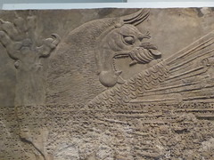 Winged Lion (Aidan McRae Thomson) Tags: nimrud relief sculpture assyrian mesopotamia britishmuseum london