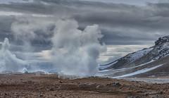 Krafla (heribertfischer) Tags: iceland krafla north europe myvatn geothermal