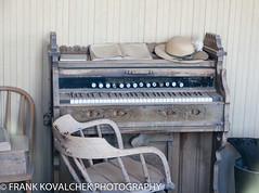Old piano at the school (Alaskan Dude) Tags: travel california bodie bodiestatehistoricalpark ghosttown bodiestatepark architecture landscape scenery outdoor