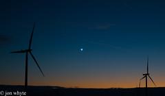 the north star (jonwhyte19) Tags: northstar windfarm eastkilbride scotland sunset
