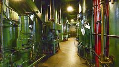 Kempton Park Water Pumps From Underneath The Engine (Animation) (ericspod) Tags: kempton steam engine london england uk nikon d7100 ffmpeg imagemagick kemptonsteammuseum
