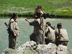 Kurdish PKK Guerillas