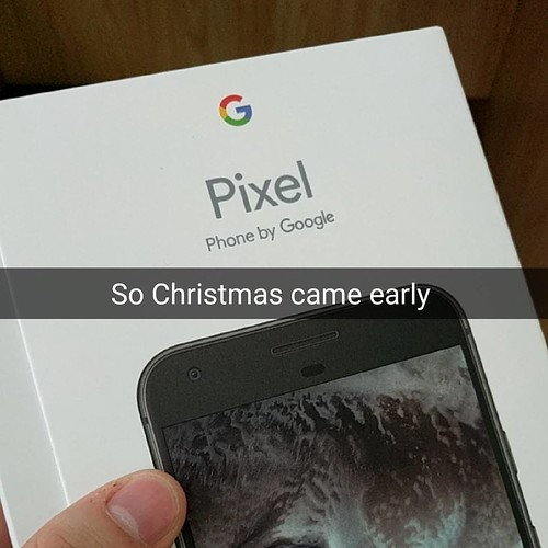 Just got this gem #madebygoogle #google #googlepixel @google