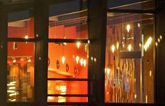 Random frames (dlanor smada) Tags: aylesbury bucks lights warmth red windows