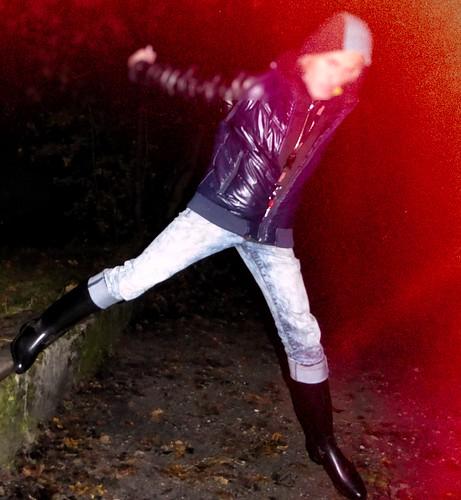 Nora Ridingboots II in the night Spezialeffekt