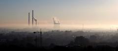 P8260556_A (PawelPach) Tags: krokw cracow krakow urban city landscape poland polska smog fog chimneys factory smoke smokestack stack urbanlandscape