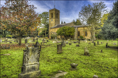 Abington Park Church (Darwinsgift) Tags: abington park church st peter pauls northampton museum graveyard pce nikkor 24mm f35 d ed nikon d810 autumn hdr photomatix