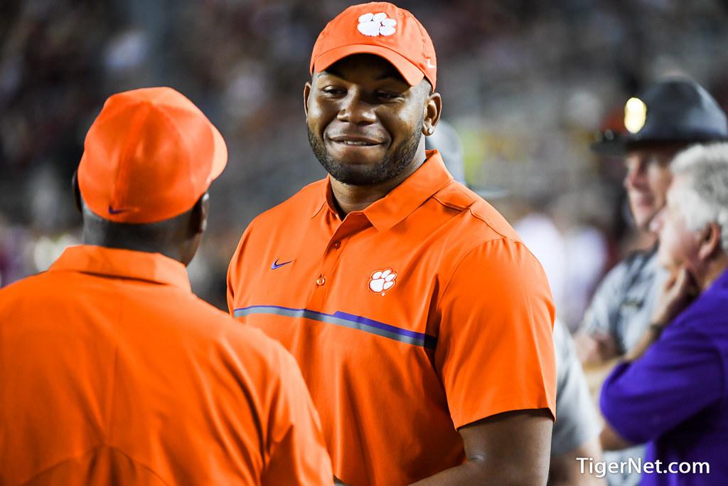 Clemson Photos: Kevin  Dodd, 2016, Football, Florida  State