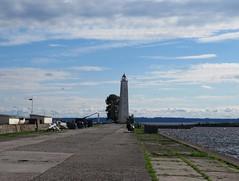 Lighthouse of Petrovsky Dock Channel in Kronstadt. (leraorsi70) Tags: kronstadt кронштадт lighthouse majakka маяк